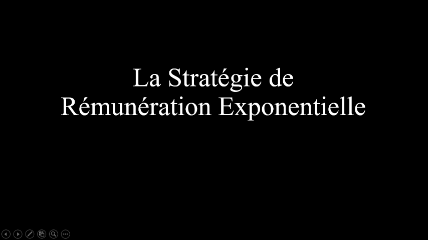 Avis La Stratégie de Rémunération Exponentielle Pdf